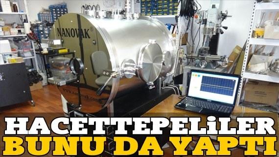 [:tr]Hacettepe'li Bilim Adamları Uzay Simülatörü Üretti.[:]